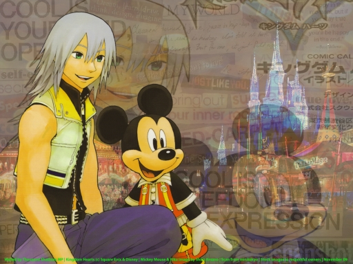 Riku and King Mickey