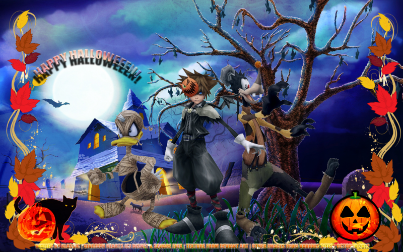 A Kingdom Hearts Halloween