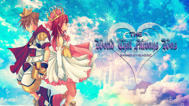 King Sora & Queen Kairi
