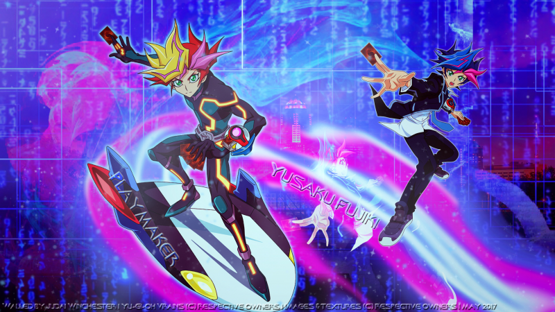 into the VRAINS....