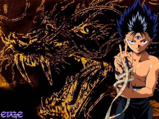 Dragon of the Darkness Flame