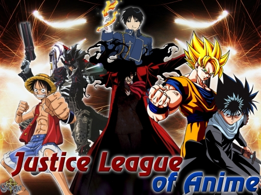 Justice League of Anime