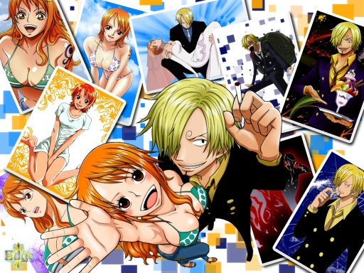 Nami and Sanji
