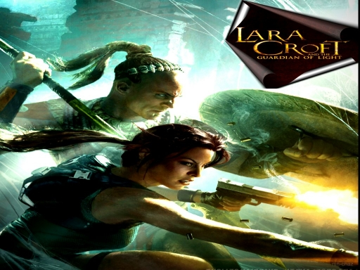 Lara croft and the guardian of