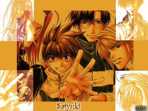 Saiyuki Wallpaper 2012!!