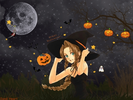 Aerith in Halloween!