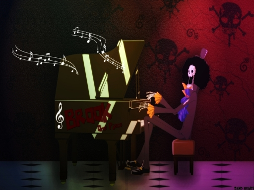 Brook Playing Piano