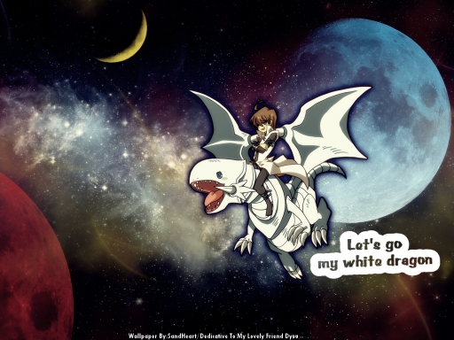 Let's go my white dragon