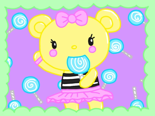 Lollipop Bear