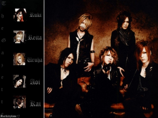 The Gazette~ names