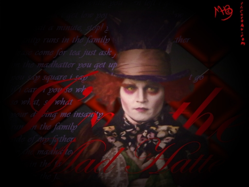 I'm the Mad Hatter