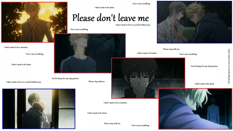 Please don't leave me ~ UraBok