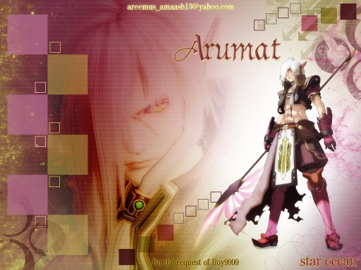 Arumat Star Ocean (request)