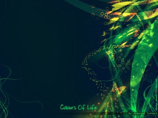 Colours Of Life...