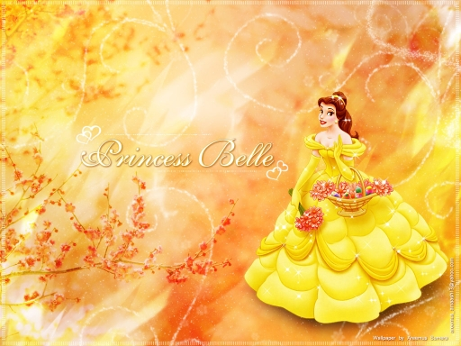 Princess Belle from Disney