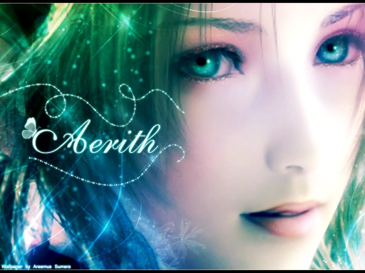 Aerith Coloured Walle