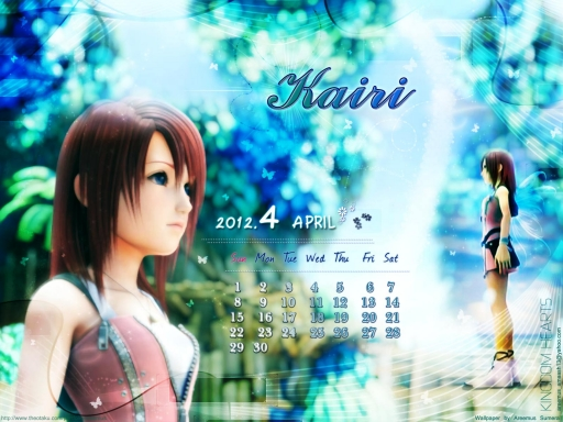 April kairi Wallpaper