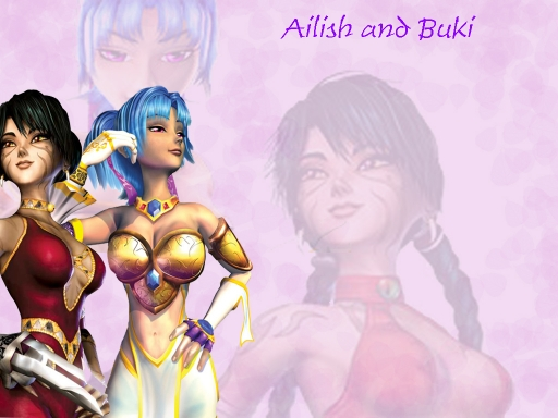 Buki and Ailish