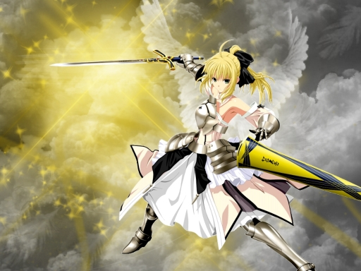 Saber Angel