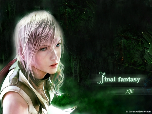 Lightning (FFXIII) - Green