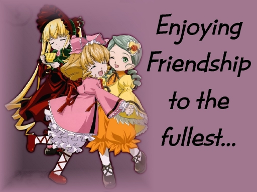 Enjoying Friendship