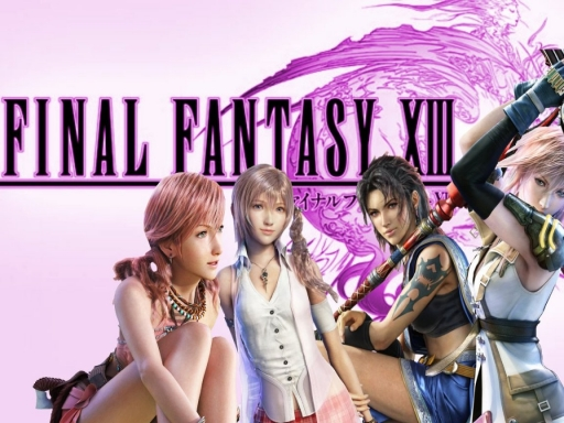 FInal Fantasy XIII Girls