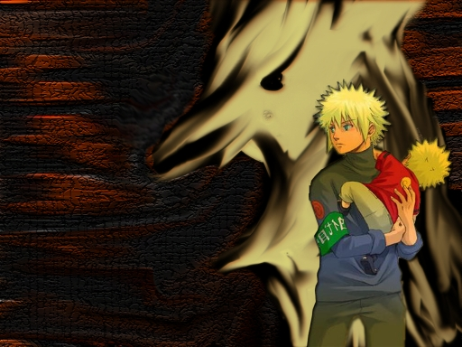 naruto and his dad