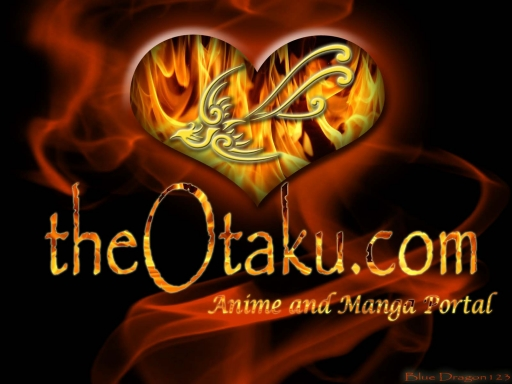 the otaku.com flaming heart