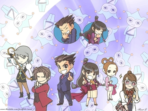 Ace Attorney Chibi