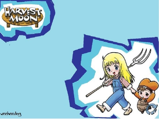 Harvest moon:blue