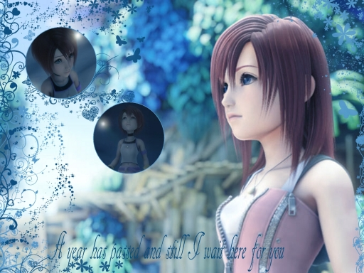 Waiting Princess Kairi