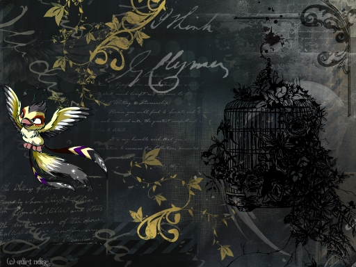 Uncaged bird  ~ Freedom