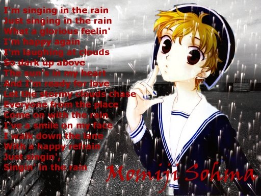 *---Singing In The Rain---*