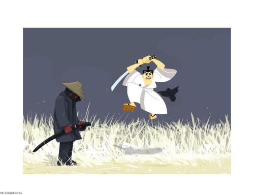 Samurai Food Fight