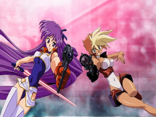 Kei & Yuri-Dirty Pair Flas