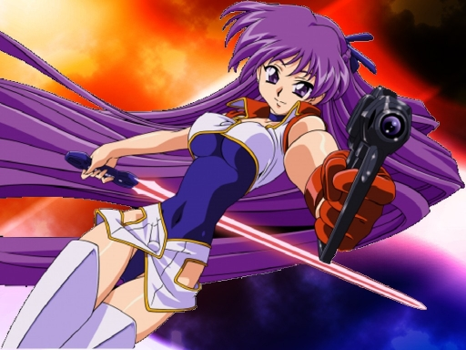 Sexy Yuri of Dirty Pair Flash