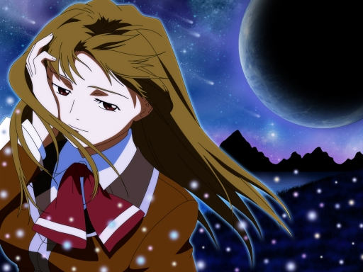 Shizuru in the night