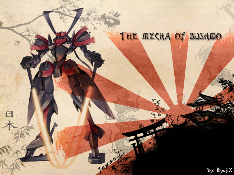 Mecha of Bushido