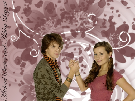 Michael Seater and Ashley Legg