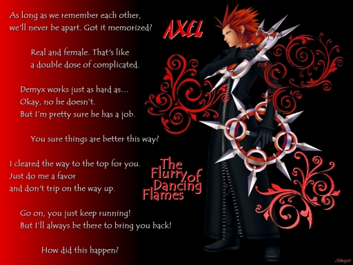 Axel: Flurry of Dancing Flames