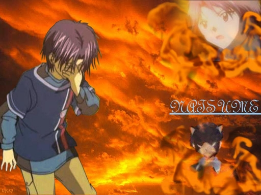 Natsume on Fire