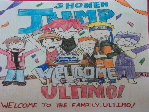 welcome to shonen jump ultimo!
