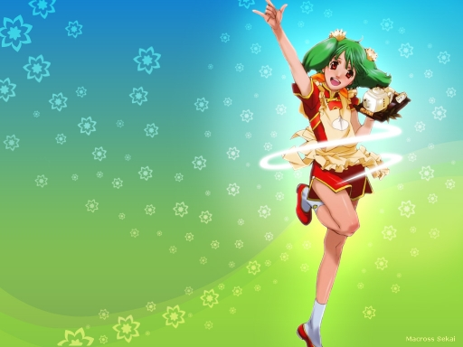 Macross F - Ranka flower