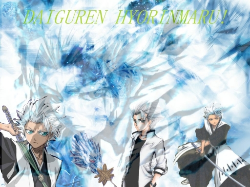 Toshiro the frozen heart
