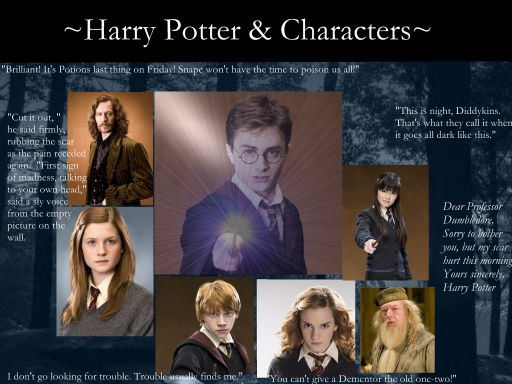 Harry Potter and Characters