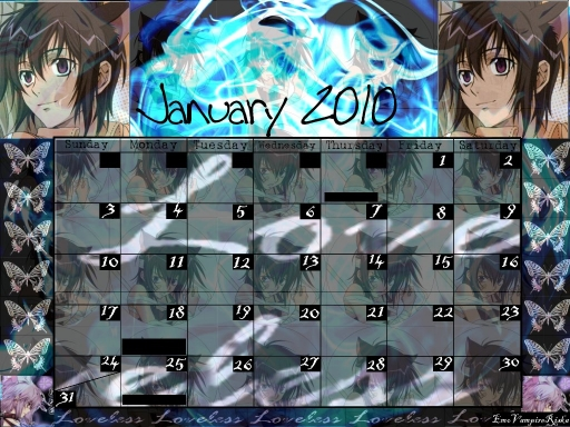 Ritsuka Calendar- version 2