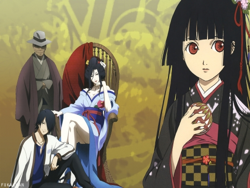 jigoku shoujo and company