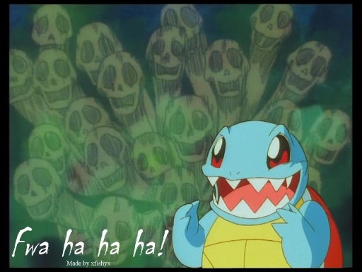 evil squirtle