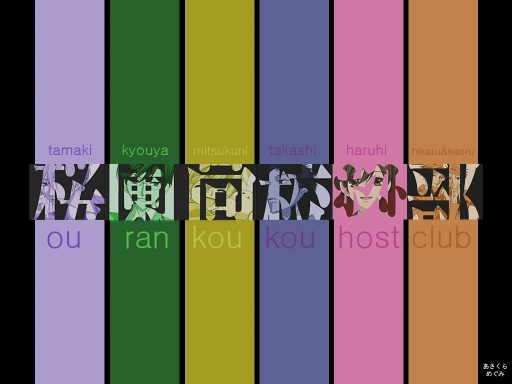 Ouran In Color