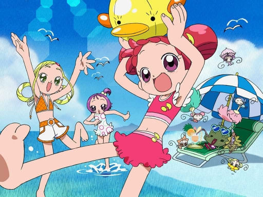 Ojamajo Doremi At The Beach